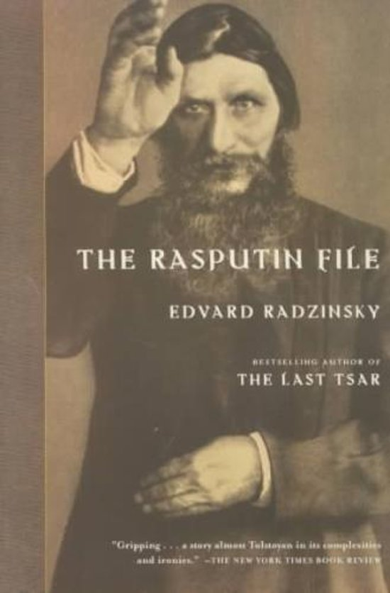 RADZINSKY,  EDVARD. - The Rasputin File.