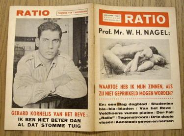 RATIO. - Juli/aug 1964. Prof. mr. W.H. nagel.