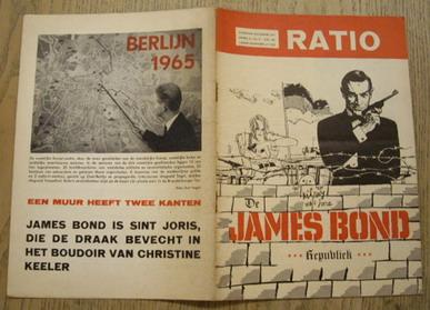 RATIO. - jaargang II / No. 5 - juli '65. james Bond
