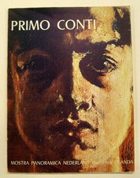 CONTI, PRIMO. - Primo Conti mostra panoramica Nederland 1967/1968 Olanda.