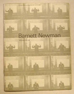 SM 1980: & NEWMAN, BARNETT. - Barnett Newman. Cat. 678.