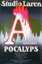 ESCHER, GIELIJN. - Studio Laren Apocalyps (U kùnt de pest krijgen) Holland Festival 1972.