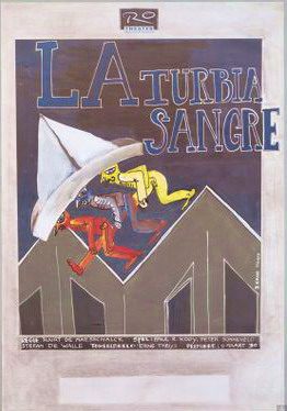 RO THEATER & ERNE THUYS. - La turbia sangre - RO Theater - 1990, 9 maart.